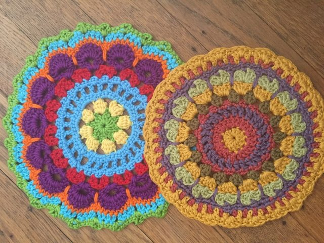 anne cotton crochet mandalas