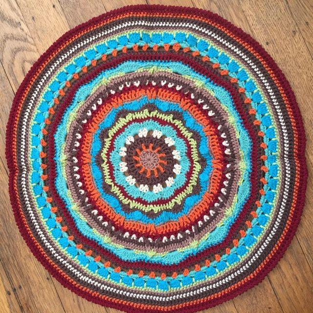 anonymous crochet mandalas