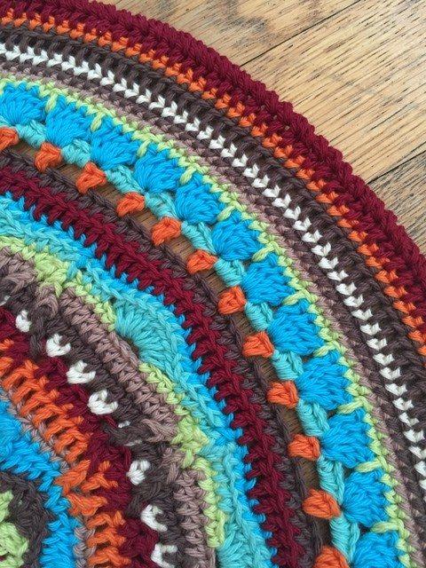 anyonymous crochet mandala for wink