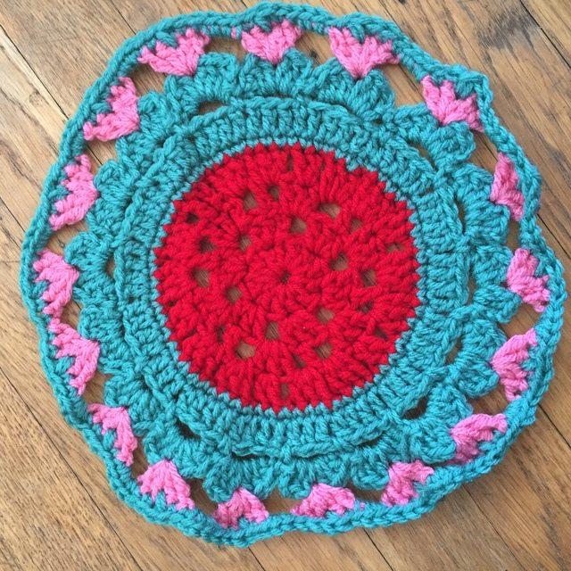 carmen crochet mandala blue