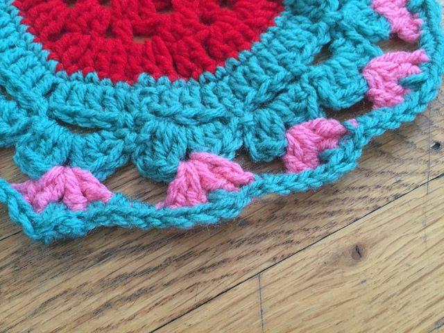 carmen crochet mandala edge
