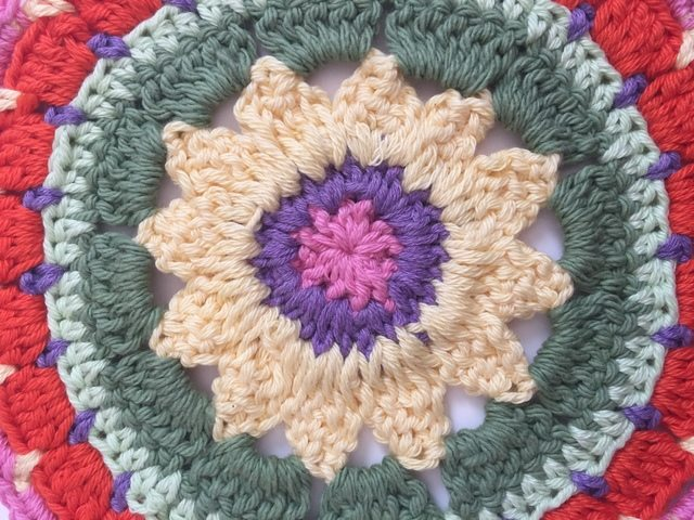 colorful anonymous crochet mandalas 10