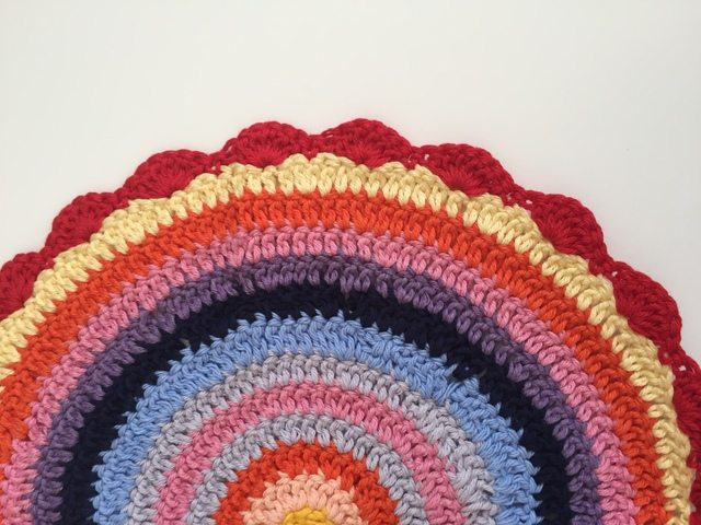 colorful anonymous crochet mandalas 2