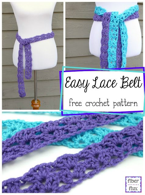 crochet belt free pattern