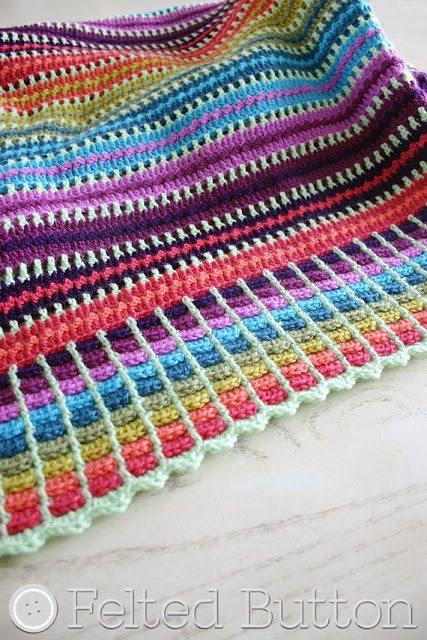 gehaakte deken gratis patroon