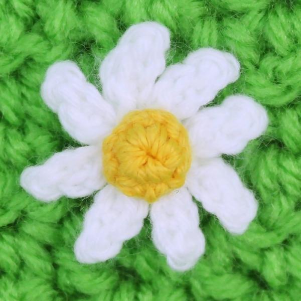 crochet daisy free pattern