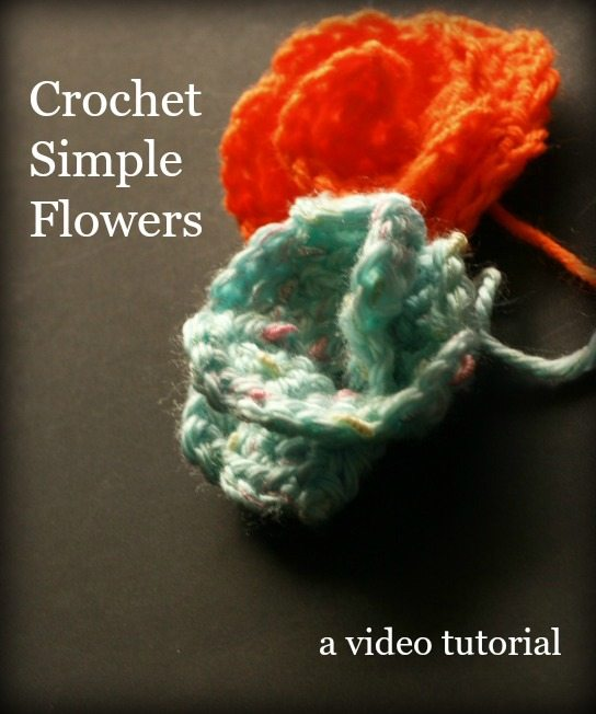 crochet flower video tutorial