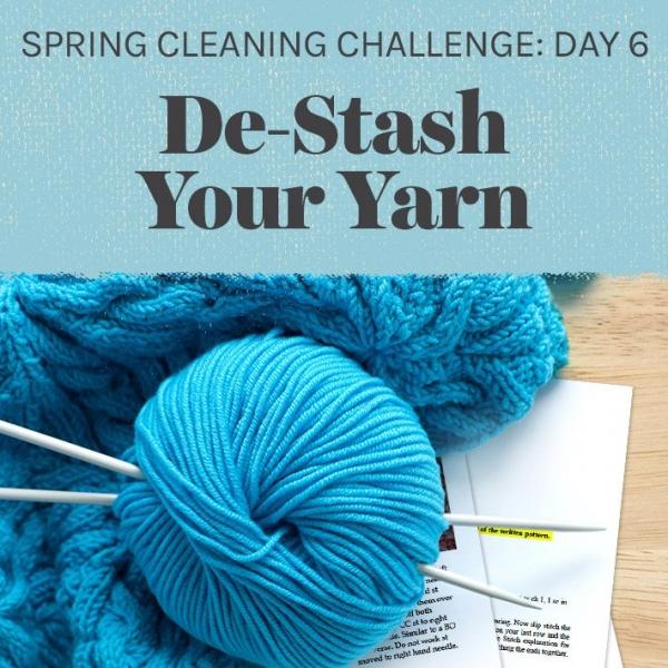 de-stash your yarn