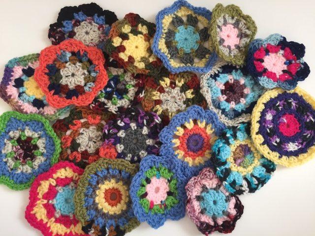 debby davies mini crochet mandalas 1