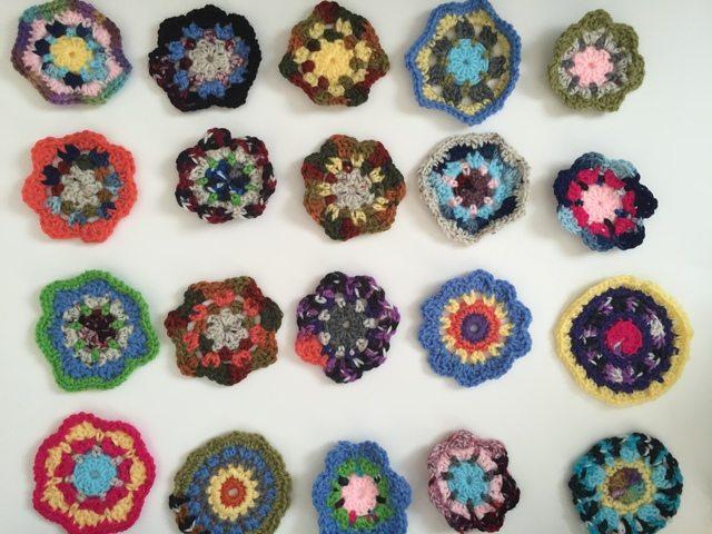 debby davies mini crochet mandalas 4