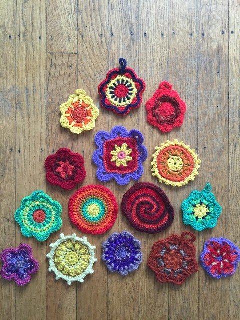 dineke crochet mini mandalasformarinke 1