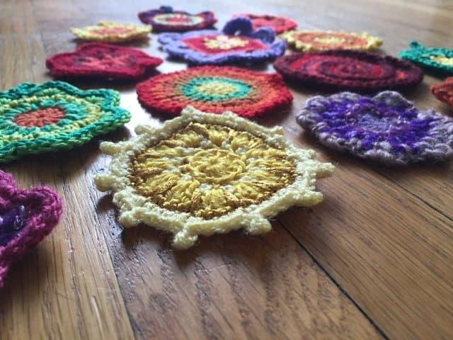 dineke crochet mini mandalasformarinke 2
