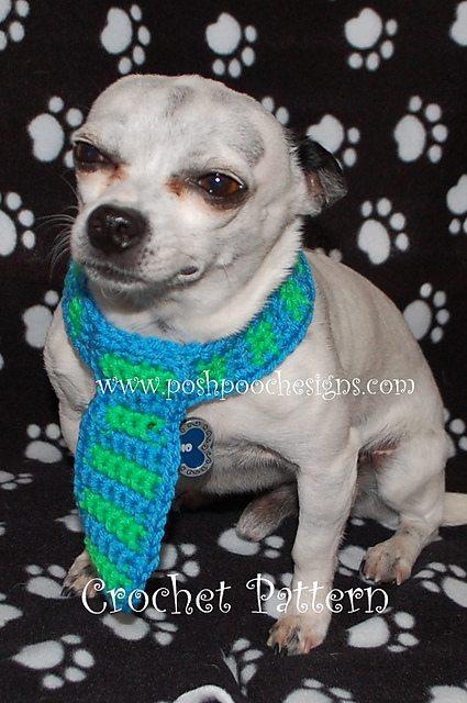 dog tie collar pattern