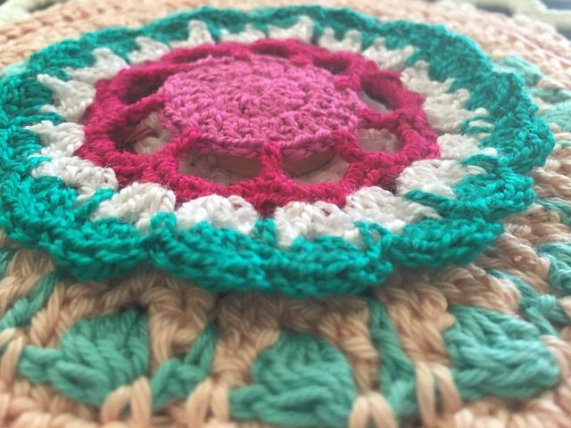esther crochet mini mandala