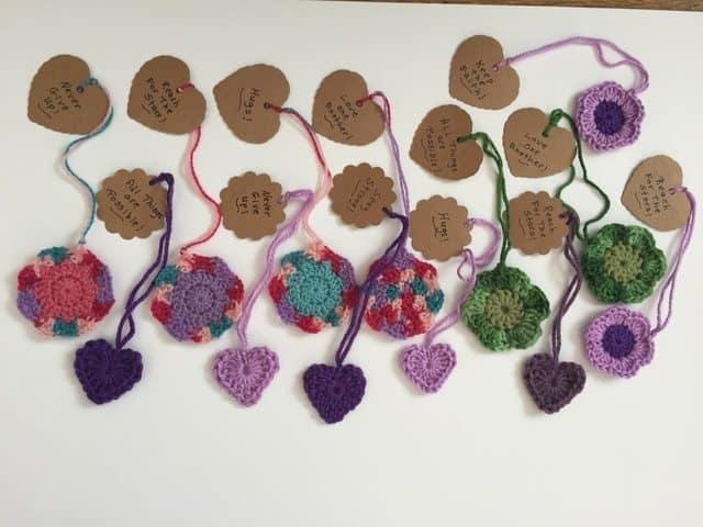 frans crochet mandalas hearts butterflies 1