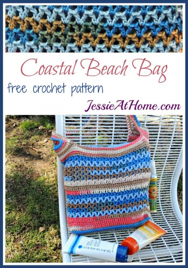 free crochet pattern - summer bag