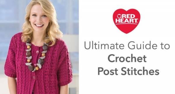 how to crochet post stitches