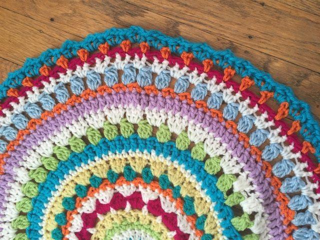 kierstin crochet large mandala