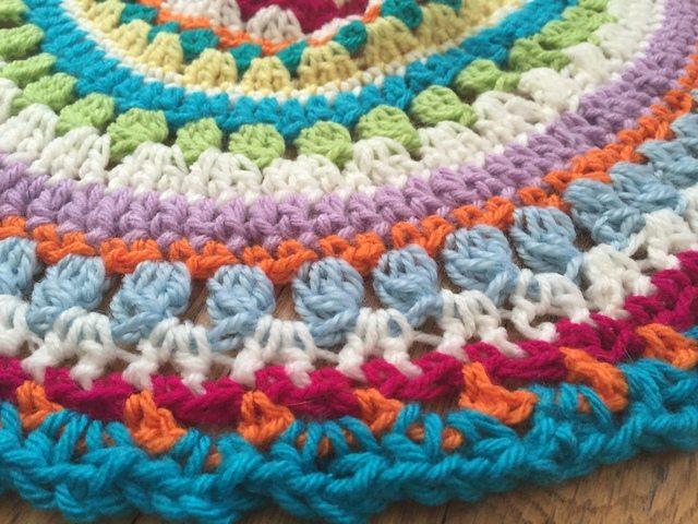 kierstin crochet mandala