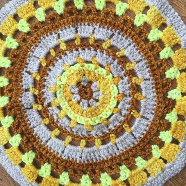 kim crochet mandala