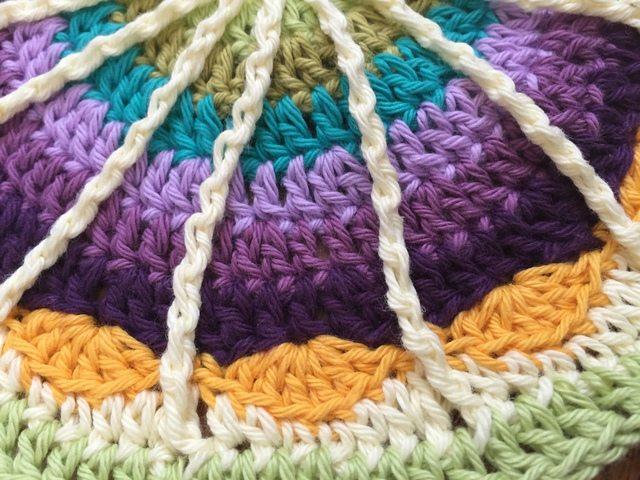 liz crochet mandalasformarinke detail