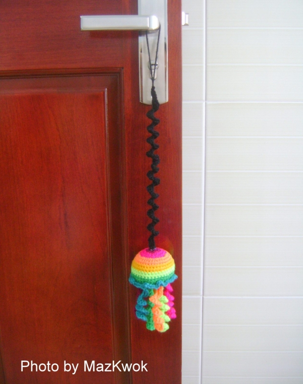 rainbow jellyfish crochet pattern