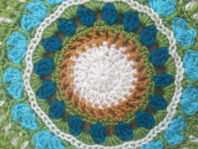 selina crochet mandala detail