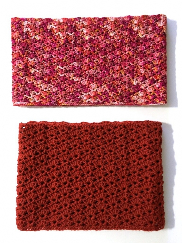 snapdragon stitch crochet cowl free pattern