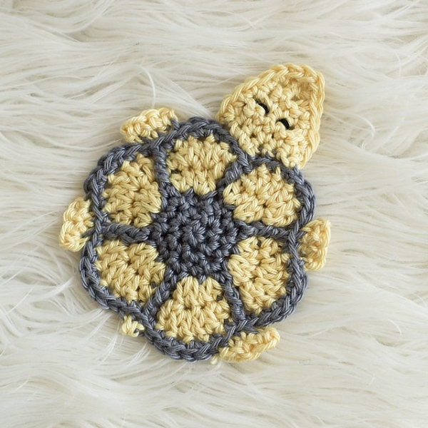 Crochet Patterns Turtle : textured bobble crochet bath mat free pattern from love crochet