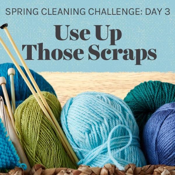 use up crochet scraps