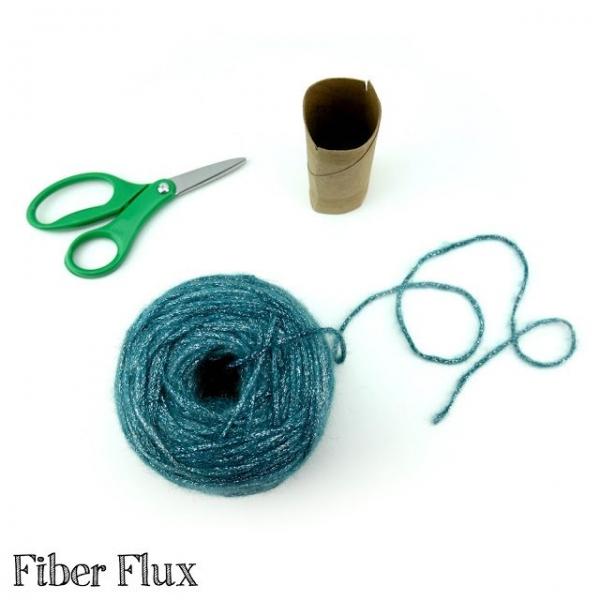 wind yarn by hand