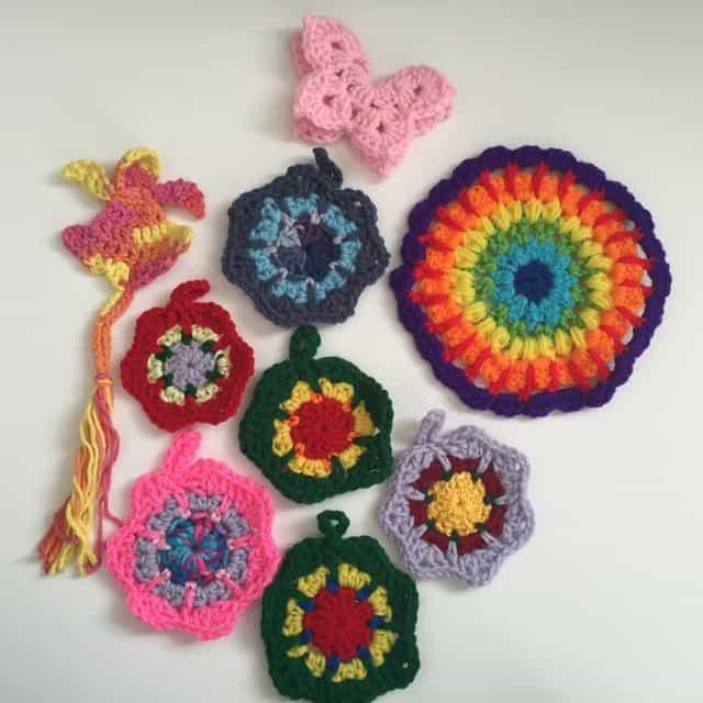 Marion's Crochet Mini Mandalas 1