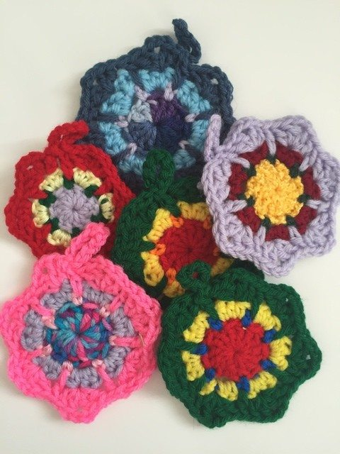 Marion's Crochet Mini Mandalas 2