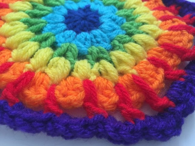 Marion's Crochet Mini Mandalas 5