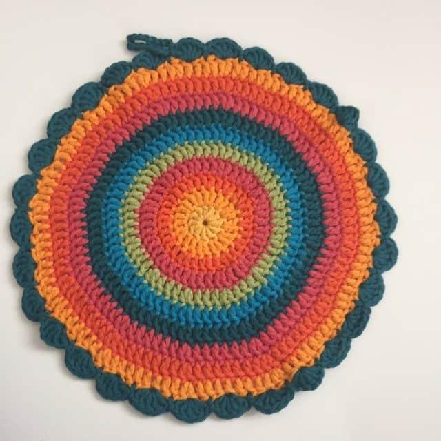 Mary @YarnTangler Crochet Mandala 1