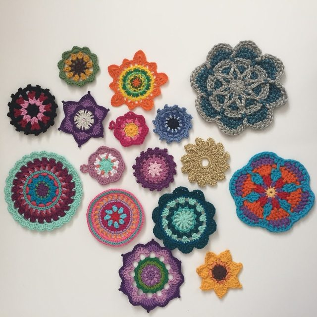 Morag Mackenzie's Mini Mandalas for Marinke 1
