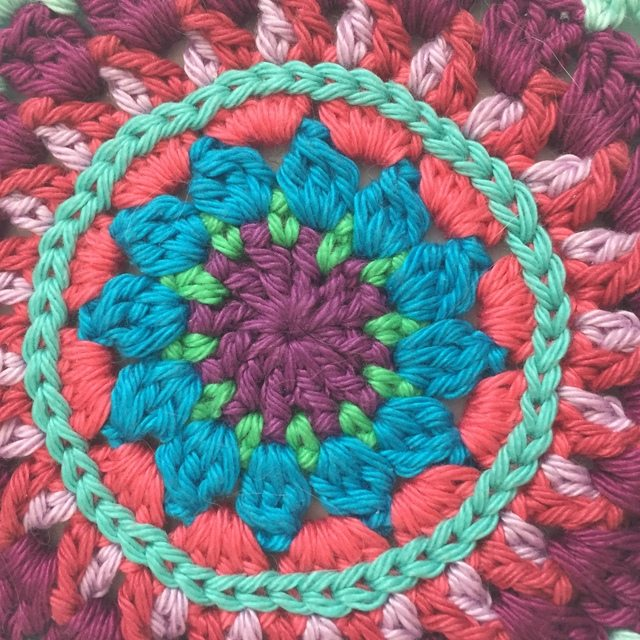 Morag Mackenzie's Mini Mandalas for Marinke 11