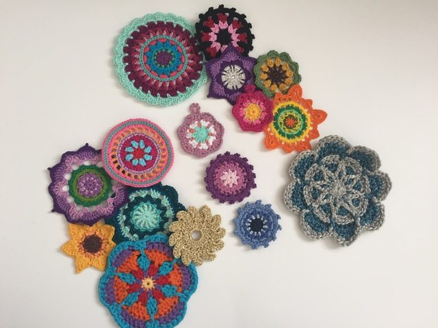 Morag Mackenzie's Mini Mandalas for Marinke 2