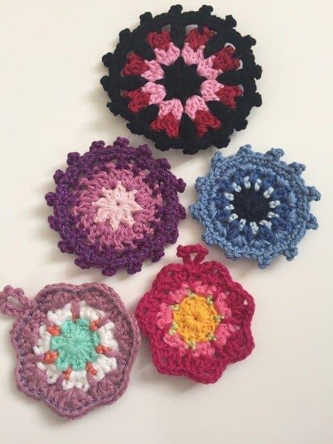 Morag Mackenzie's Mini Mandalas for Marinke 5