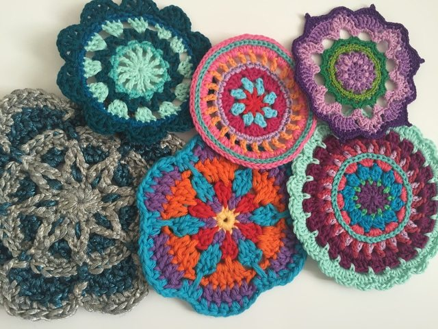 Morag Mackenzie's Mini Mandalas for Marinke 8