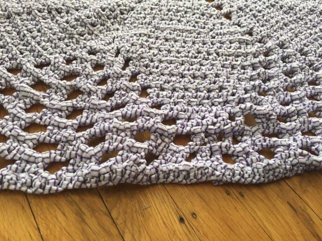 Valerie's Crochet Mandala Rug 2
