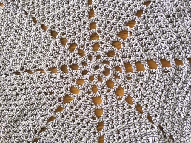 Valerie's Crochet Mandala Rug 3