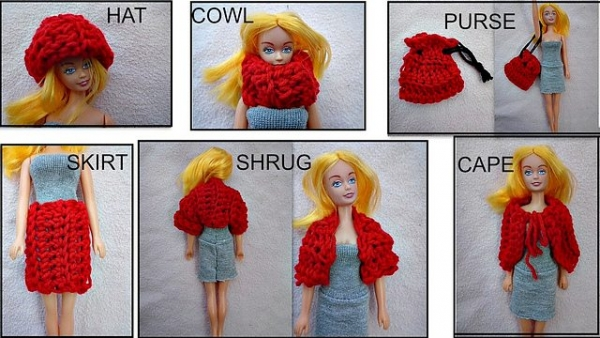 barbie doll crochet patterns