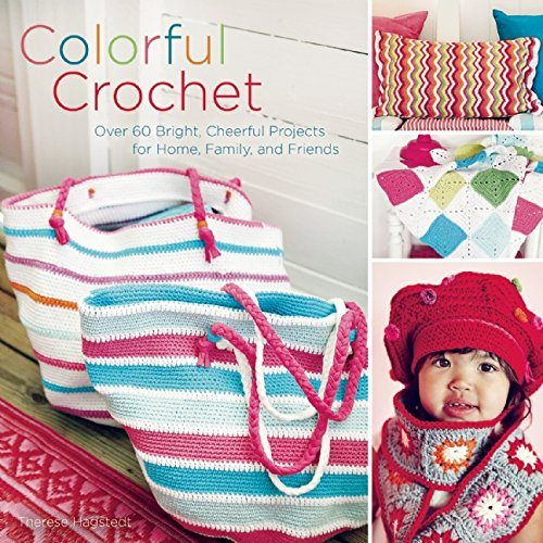 colorful crochet book