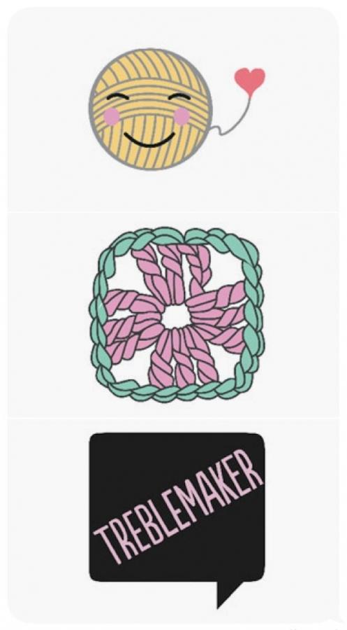 craftmoji crochet emojis