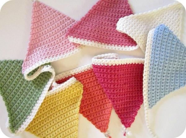 crochet bunting pattern
