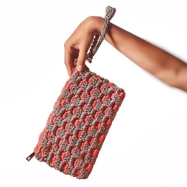 crochet clutch purse helen rodel