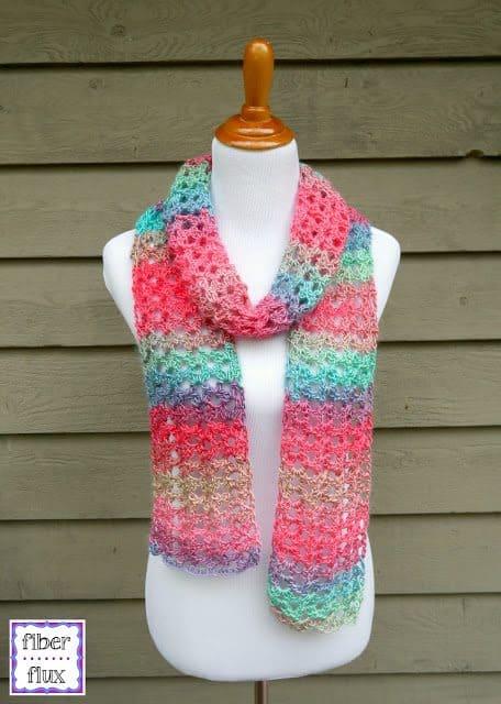 crochet scarf free pattern