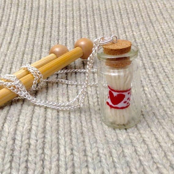 micro yarn in bottle