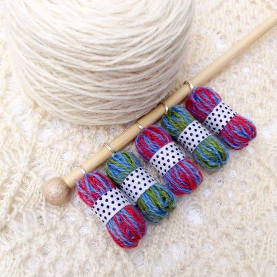 micro yarn stitch markers